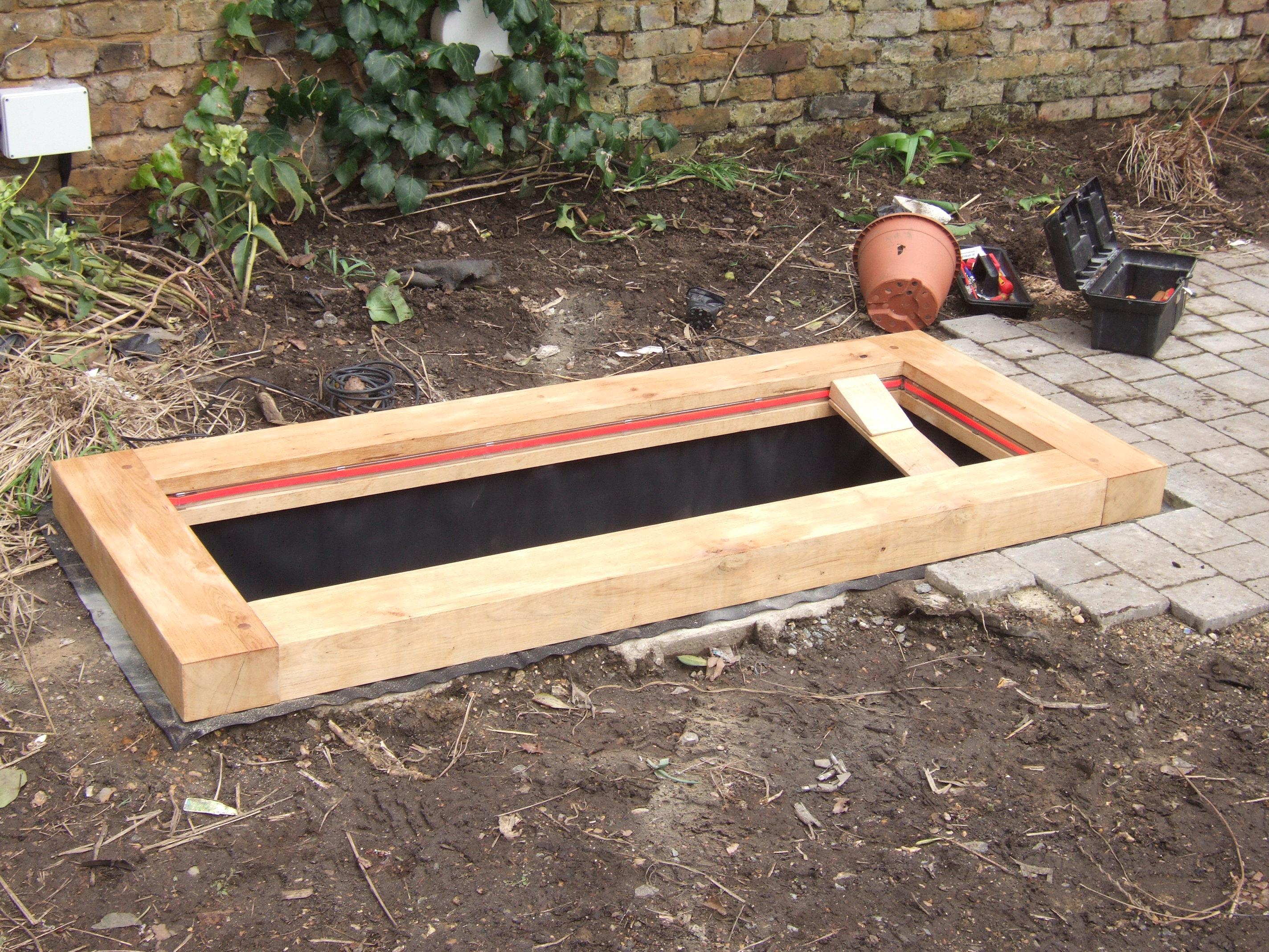 Oak pond surrounds oxford oak blog for Garden pool surrounds